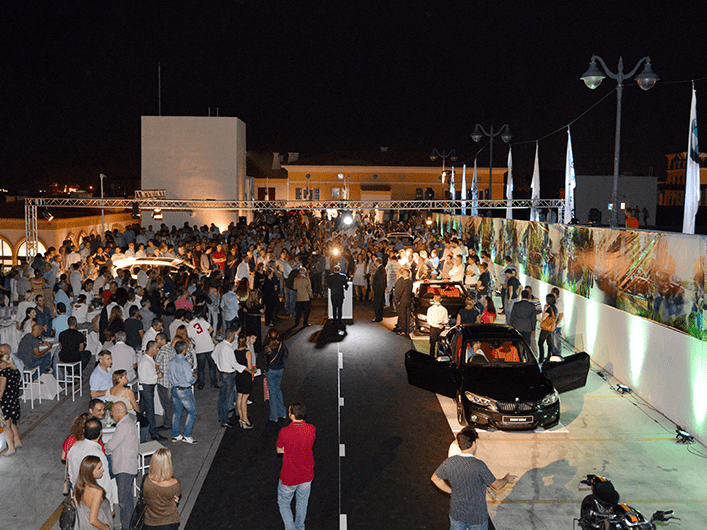 BMW Launch of New Series at Limassol Marina
