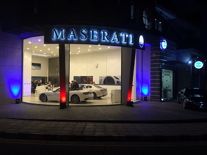 Maserati Show Room Opening Public Events